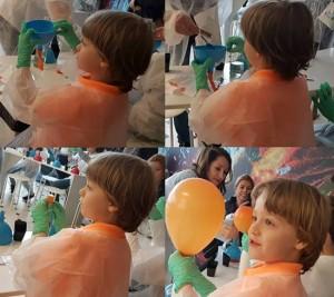 umflam un balon